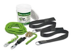 Miller TechLine horizontal lifelines can support up to two workers at a time