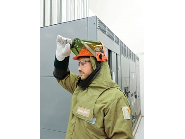 Lightweight and more comfortable to wear than a standard arc flash hood
