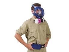 Survivair 4000 Powered Air Purifying Respirator (PAPR) system.