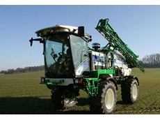 Four Wheel Drive Air Ride 4000 Spraying Equipment by Househam Sprayers
