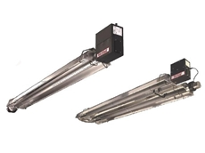 Blackheat U-tube and linear low intensity radiant heaters
