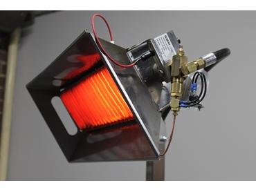 Cafe style small Ceramic burner-heatglo