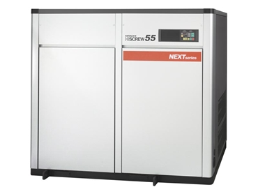 Energy efficeient Hitachi screw compressors