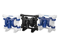 SP100 air operated double diaphragm pumps