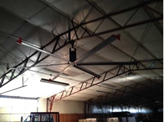 New HVLS fans developed for use in industrial and commercial areas