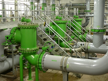 Automatic Backflushing Filter for Process Technology from Hydac