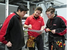 During the four-year program, the apprentices will be guided step-by-step by Hydac's experienced industrial electricians.