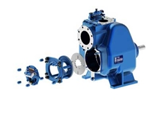 Gorman-Rupp's new Ultra-V Eradicator delivers higher pressures than any other solids handling self-priming pump