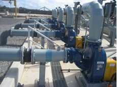 Gorman-Rupp self priming centrifugal pumps are used at a major environmental site in Adelaide