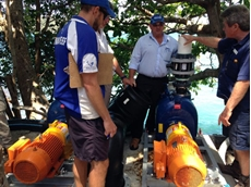 Gorman-Rupp self priming range for seawater pumping at QLD resort