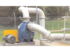 Gorman-Rupp T8A3S-B above ground, self-priming centrifugal pump