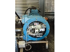The Ragazzini peristaltic pump supplied to the Bathurst Water Treatment Plant