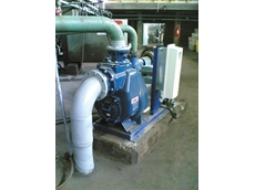 Two-Stage Self Priming Wastewater Pump by Gorman-Rupp VS3B60