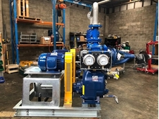 The plant sought wastewater pumps that could pass 35mm solids as well as offer reliable priming.