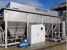 Dissolved Air Flotation (DAF) systems from Hydroflux