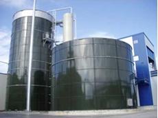 A HydroThane installation