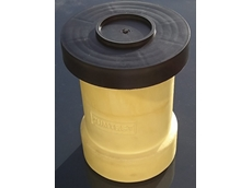 Lightweight plastic moulds for casting concrete test cylinders