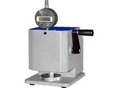 TLS manual micrometers for measuring paper thickness available from Hylec Controls