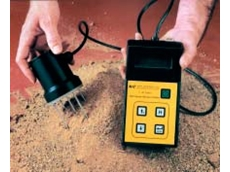 The James Trident T-90 Moisture Meter available from Hylec Controls