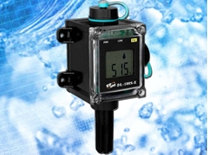 The DL-100S-E data logger is designed for industrial applications in harsh environments