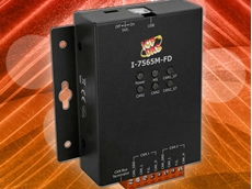 I-7565M-FD USB to 2-port CAN/CAN FD bus converter