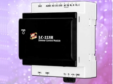 The LC-223H is an easy-to-use dimming ballast control module