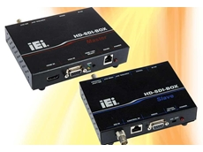 IEI's HD-SDI-BOX high-definition serial digital interface signal transmission box