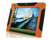 IEI's UPC-V312-D525 aluminium rugged panel PC