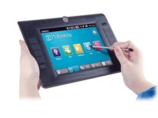 IceRock-08A fanless industrial tablet PC with touch screen
