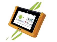 "IEI Technology's 7"" tablet PC"