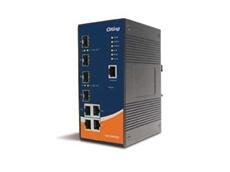 IGS-3044GP industrial 8-port managed Gigabit Ethernet switches from ICP Electronics Australia