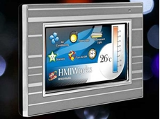 "New 4.3"" touch HMI device for building and home automation"