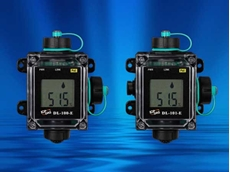 DL-100-E and DL-101-E data loggers designed to record remote temperature, humidity and dew point