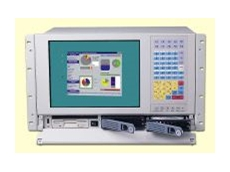 Workstation with integrated membrane keypad