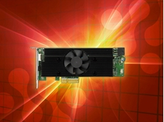iEi Integration's new Mustang-V100-MX8 computing accelerator card