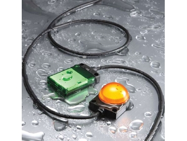 Surface mount LED indicators for equipment or panel surfaces