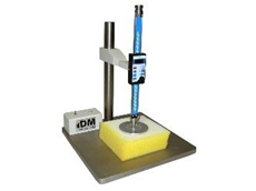 Foam thickness gauge