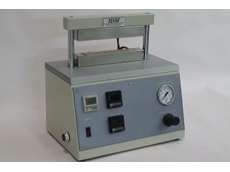 IDM's laboratory heat sealer.