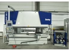 CNC operated electronic/hydraulic press brakes