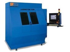 LASERDYNE 430 3-axis work station for drilling, welding, and metal cutting applications
