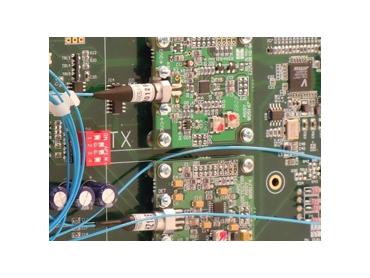 Dual Gigabit Ethernet to Optical Fibre Transceivers