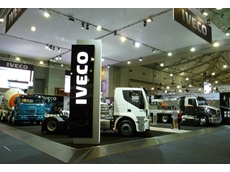 The IVECO stand at the Brisbane Truck Show in May