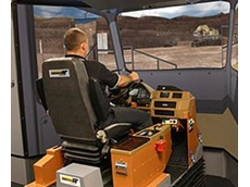 Advanced Equipment Simulator for Komatsu Haul Truck