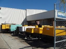 Used diesel air compressors