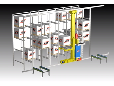 Automated Storage and Retrieval System (ASRS)