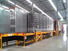 With ICA's automated handling solutions, loads are prepared on the loading dock