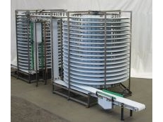 Chiller/freezer conveyor -- custom built.