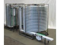 Chiller/freezer conveyor -- custom built.