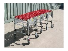 Extendable conveyors available from Industrial Conveying