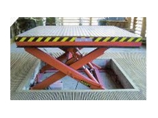 The loading dock table is easy to operate.